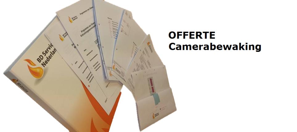 Offerte-camerabewaking