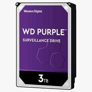 Western Digital 3 TB Purple HDD