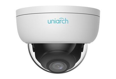 Uniarch 2MP Vandal-resistant Network IR Fixed Dome Camera