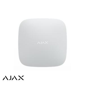 Ajax Hub, wit, met GSM en IP communicatie