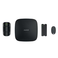 Ajax Hubkit, zwart, GSM/IP hub, PIR, deurcontact, afstandsbediening