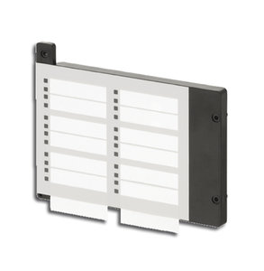 FTO1202-Z1 Zone tekst/LED paneel