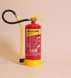 Uro vetbrandblusser 6ltr. brandklasse A-F